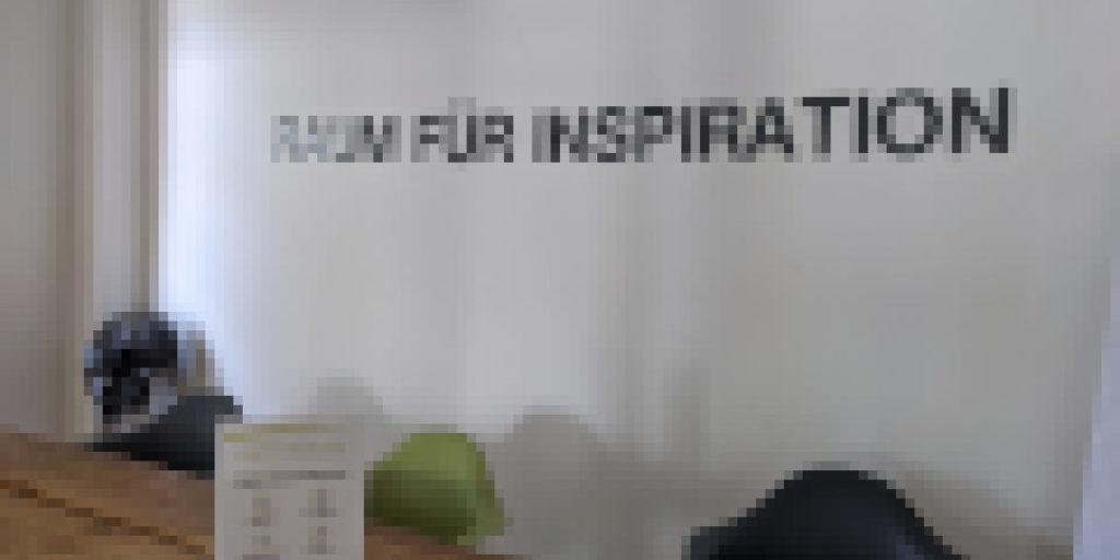 Raum für Inspiration